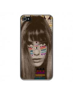 Coque Jane Azteque pour iPhone 4 et 4S - Kris Tate