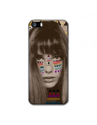 Coque Jane Azteque pour iPhone 5 et 5S - Kris Tate