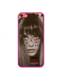 Coque Jane Azteque pour iPhone 5C - Kris Tate