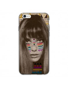 Coque Jane Azteque pour iPhone 6 - Kris Tate