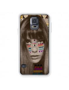 Coque Jane Azteque pour Samsung Galaxy S5 - Kris Tate