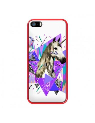 Coque Licorne Unicorn Azteque pour iPhone 5 et 5S - Kris Tate