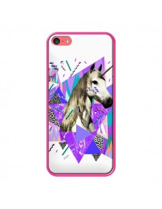 Coque Licorne Unicorn Azteque pour iPhone 5C - Kris Tate