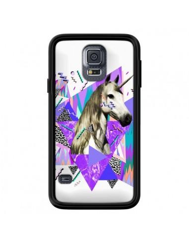 Coque Licorne Unicorn Azteque pour Samsung Galaxy S5 - Kris Tate