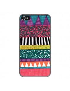 Coque Azteque Dessin pour iPhone 4 et 4S - Kris Tate