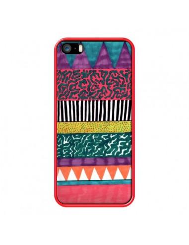 Coque Azteque Dessin pour iPhone 5 et 5S - Kris Tate