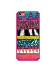 Coque Azteque Dessin pour iPhone 5C - Kris Tate
