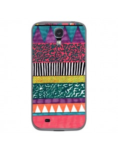 Coque Azteque Dessin pour Samsung Galaxy S4 - Kris Tate
