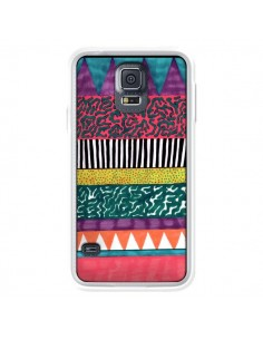 Coque Azteque Dessin pour Samsung Galaxy S5 - Kris Tate
