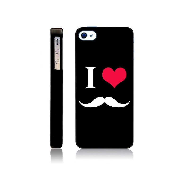 Coque I Love Moustache pour iPhone 5