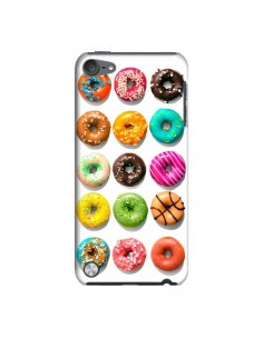 Coque Donuts Multicolore Chocolat Vanille pour iPod Touch 5 - Laetitia