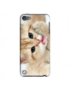 Coque Chat Cat Tongue pour iPod Touch 5 - Laetitia