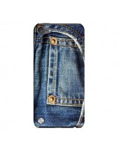 Coque Jean Bleu Vintage pour iPod Touch 5 - Laetitia