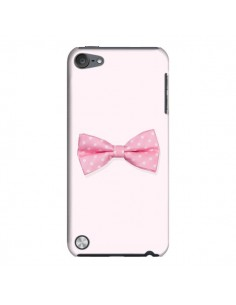 Coque Nœud Papillon Rose Girly Bow Tie pour iPod Touch 5 - Laetitia
