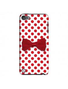 Coque Nœud Papillon Rouge Girly Bow Tie pour iPod Touch 5 - Laetitia