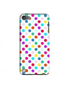 Coque Pois Multicolores pour iPod Touch 5 - Laetitia
