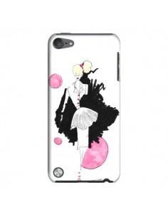 Coque Demoiselle Femme Fashion Mode Rose pour iPod Touch 5 - Cécile