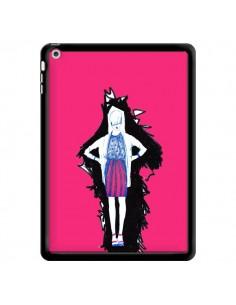 Coque Lola Femme Fashion Mode Rose pour iPad Air - Cécile