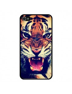 Coque Tigre Swag Roar Tiger pour iPhone 4 et 4S - Laetitia