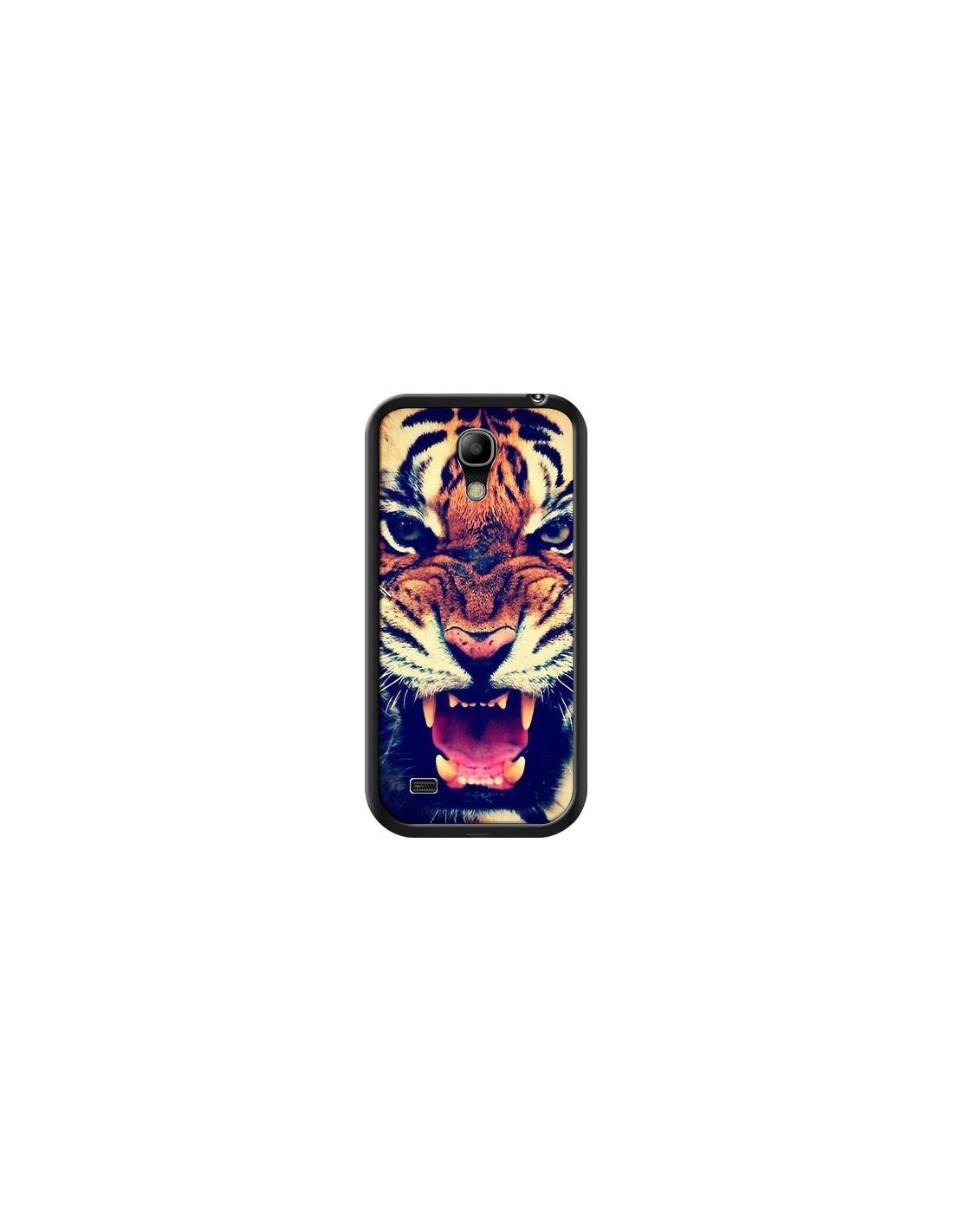 coque tigre swag roar tiger pour samsung galaxy s4 mini laetitia. Black Bedroom Furniture Sets. Home Design Ideas