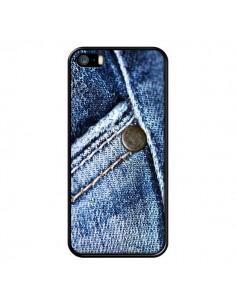 Coque Jean Vintage pour iPhone 5 et 5S - Laetitia