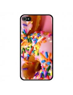 Coque Donuts Rose Candy Bonbon pour iPhone 4 et 4S - Laetitia