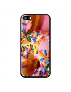 Coque Donuts Rose Candy Bonbon pour iPhone 5 et 5S - Laetitia