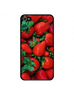 Coque Fraise Strawberry Fruit pour iPhone 4 et 4S - Laetitia