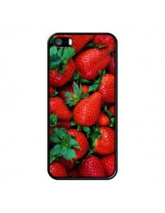 Coque Fraise Strawberry Fruit pour iPhone 5 et 5S - Laetitia