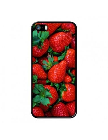 coque fraise iphone 5