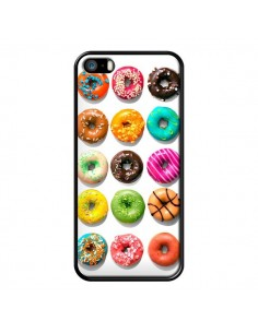 Coque Donuts Multicolore Chocolat Vanille pour iPhone 5 et 5S - Laetitia