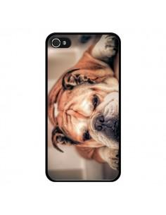 Coque Chien Bulldog Dog pour iPhone 4 et 4S - Laetitia