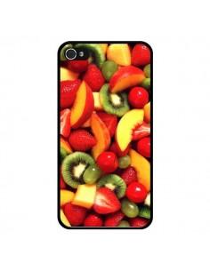 Coque Fruit Kiwi Fraise pour iPhone 4 et 4S - Laetitia