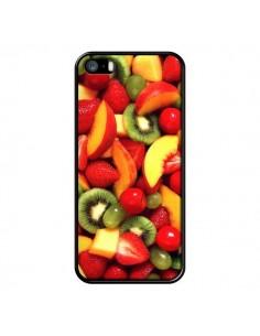 Coque Fruit Kiwi Fraise pour iPhone 5 et 5S - Laetitia