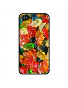 Coque Bonbon Ourson Candy pour iPhone 4 et 4S - Laetitia