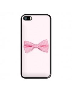 Coque Nœud Papillon Rose Girly Bow Tie pour iPhone 5 et 5S - Laetitia