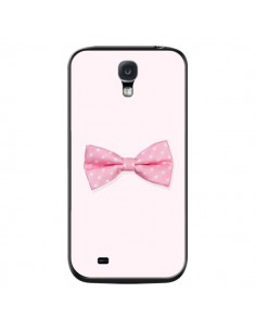 Coque Nœud Papillon Rose Girly Bow Tie pour Samsung Galaxy S4 - Laetitia