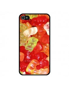Coque Bonbon Ourson Multicolore Candy pour iPhone 4 et 4S - Laetitia