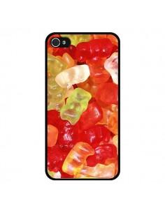 Coque Bonbon Ourson Multicolore Candy pour iPhone 4 et 4S - Laetitia