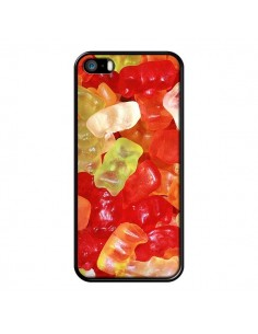 Coque Bonbon Ourson Multicolore Candy pour iPhone 5 et 5S - Laetitia