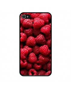Coque Framboise Raspberry Fruit pour iPhone 4 et 4S - Laetitia