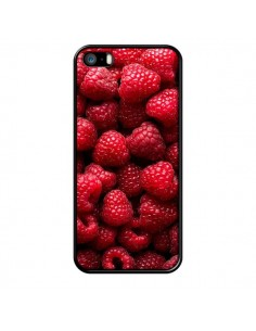 Coque Framboise Raspberry Fruit pour iPhone 5 et 5S - Laetitia