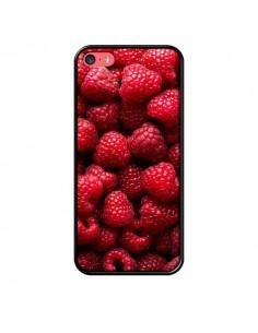 Coque Framboise Raspberry Fruit pour iPhone 5C - Laetitia