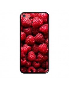 Coque Framboise Raspberry Fruit pour iPhone 5C - Laetitia