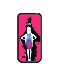 Coque Lola Femme Fashion Mode Rose pour Samsung Galaxy S4 Mini - Cécile