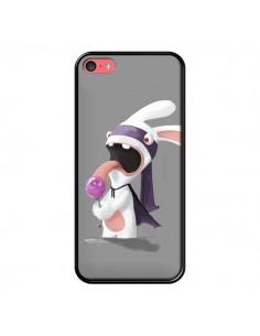 Coque Lapin Crétin Sucette pour iPhone 5C - Bertrand Carriere
