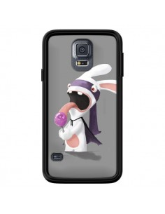 Coque Lapin Crétin Sucette pour Samsung Galaxy S5 - Bertrand Carriere
