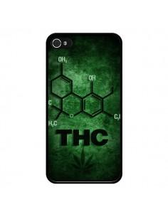 Coque THC Molécule pour iPhone 4 et 4S - Bertrand Carriere