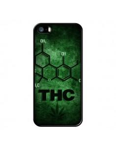 Coque THC Molécule pour iPhone 5 et 5S - Bertrand Carriere