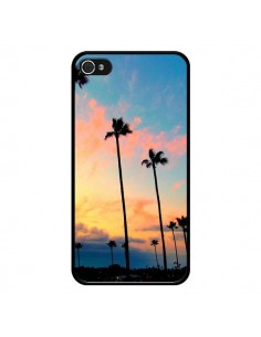 Coque California Californie USA Palmiers pour iPhone 4 et 4S - Tara Yarte